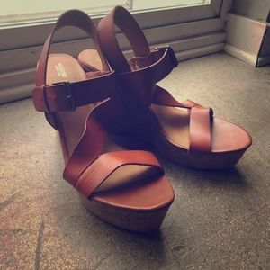 Shoes - NEW vegan leather wedges
